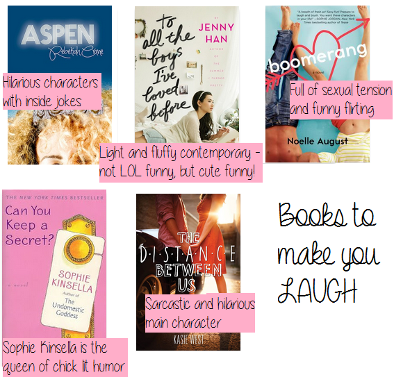 books to make you laugh