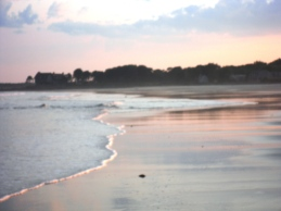 Parson's Beach in Kennebunk, Maine